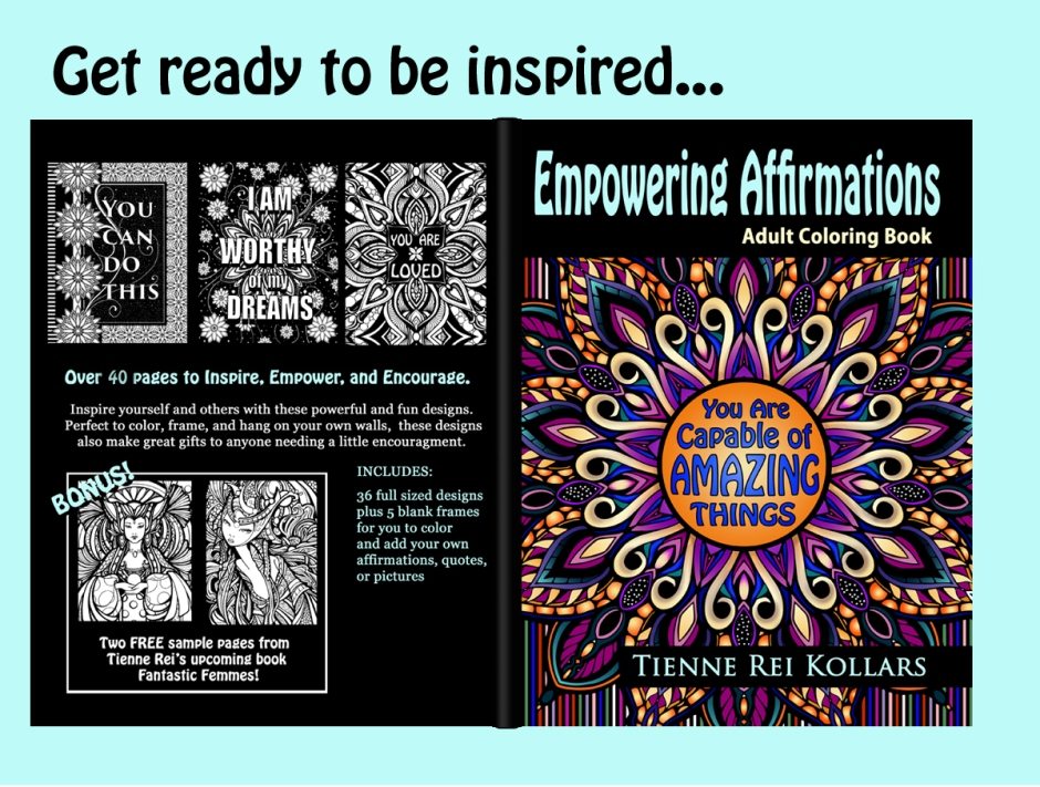 Empowering Affirmations Coloring Book